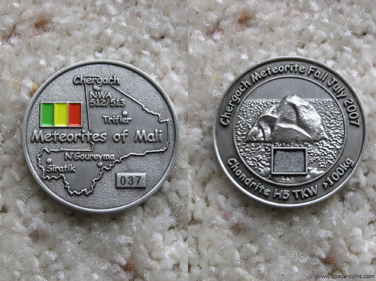 77th Anniversary of the LOWICZ meteorite shower 2012 coin